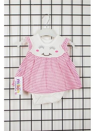 Fındık Baby Million Babies Tavşan Kulak Kız Bebek Elbise 2120 Sarı